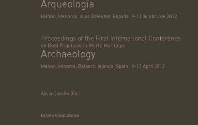 Publicadas las actas del I Congreso Internacional de Buenas Prácticas en Patrimonio