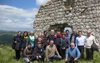 UNESCO Etxea de visita en el conjunto monumental de Zambrana