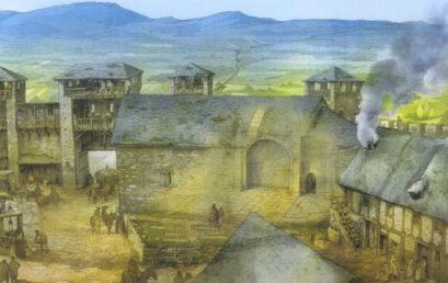 """Presentado a los medios de comunicación el libro """"Arqueología e Historia de una ciudad. Los orígenes de Vitoria Gasteiz"""" de A. Azkarate y J. L. Solaun"""