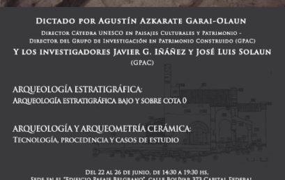 Curso de metodología arqueológica en Buenos Aires