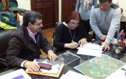 Firma convenio con el Gobierno de la provincia de Santa Fe (Argentina)