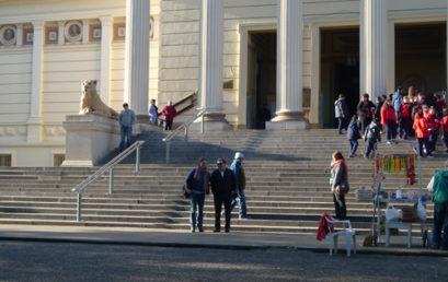 Conferencia en el Museo de La Plata (Argentina)