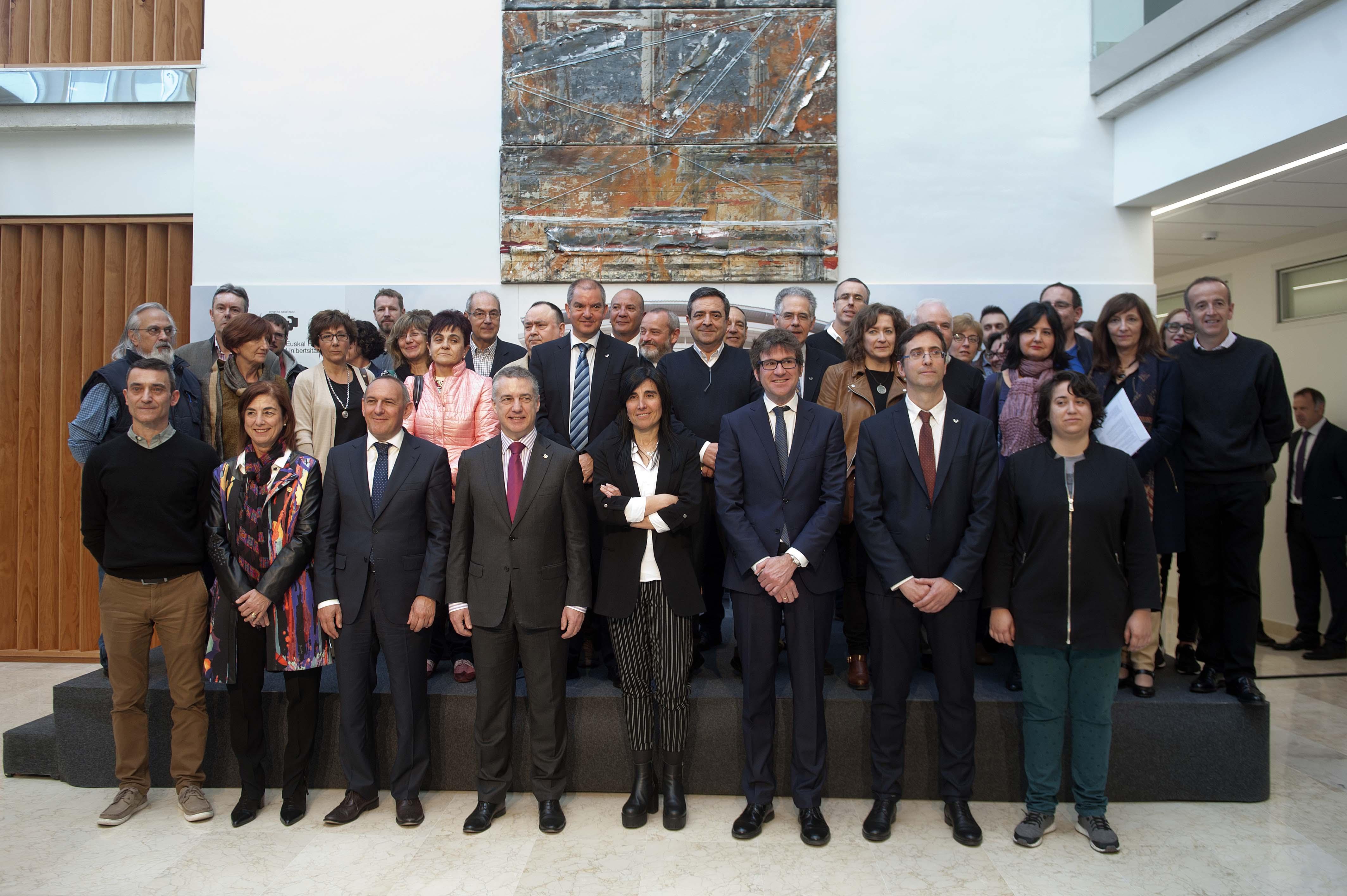 Inauguración de nuestra sede, el Centro de Investigación Micaela Portilla Ikergunea