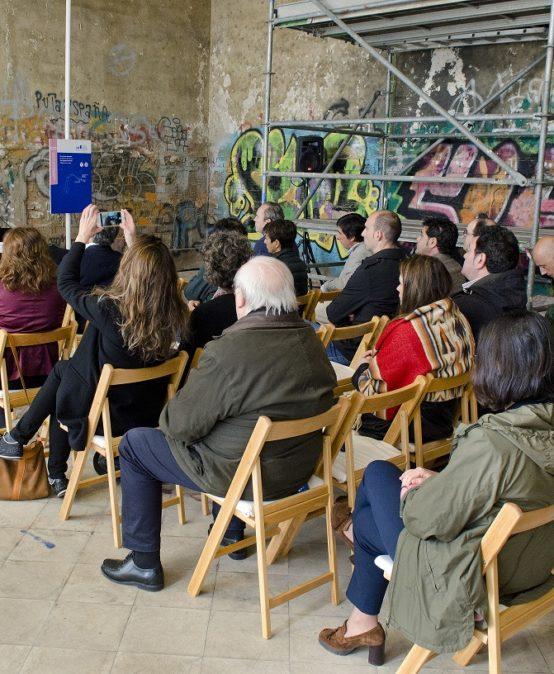 """Conferencia """"Acción de Fomento en la recuperación patrimonial. Posibilidades abiertas para las instituciones del País Vasco"""". Punta Begoña – Getxo, 9 de mayo de 2018"""