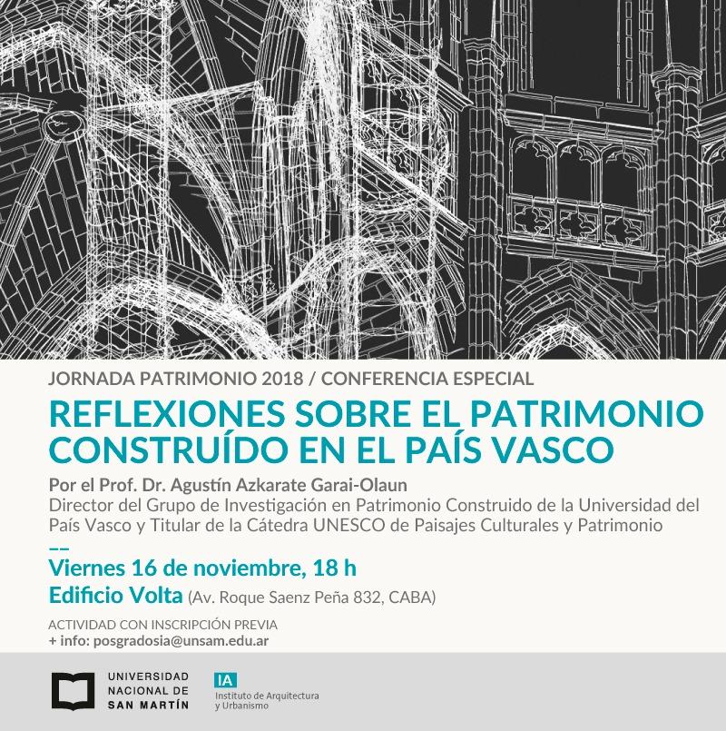 Conferencia Agustín Azkarate en Buenos Aires