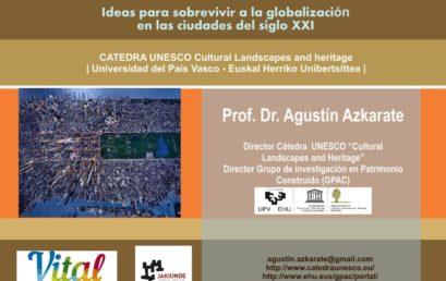 Conferencia «V-G / 3KTD (Vitoria-Gasteiz, la ciudad de las 3 catedrales)»