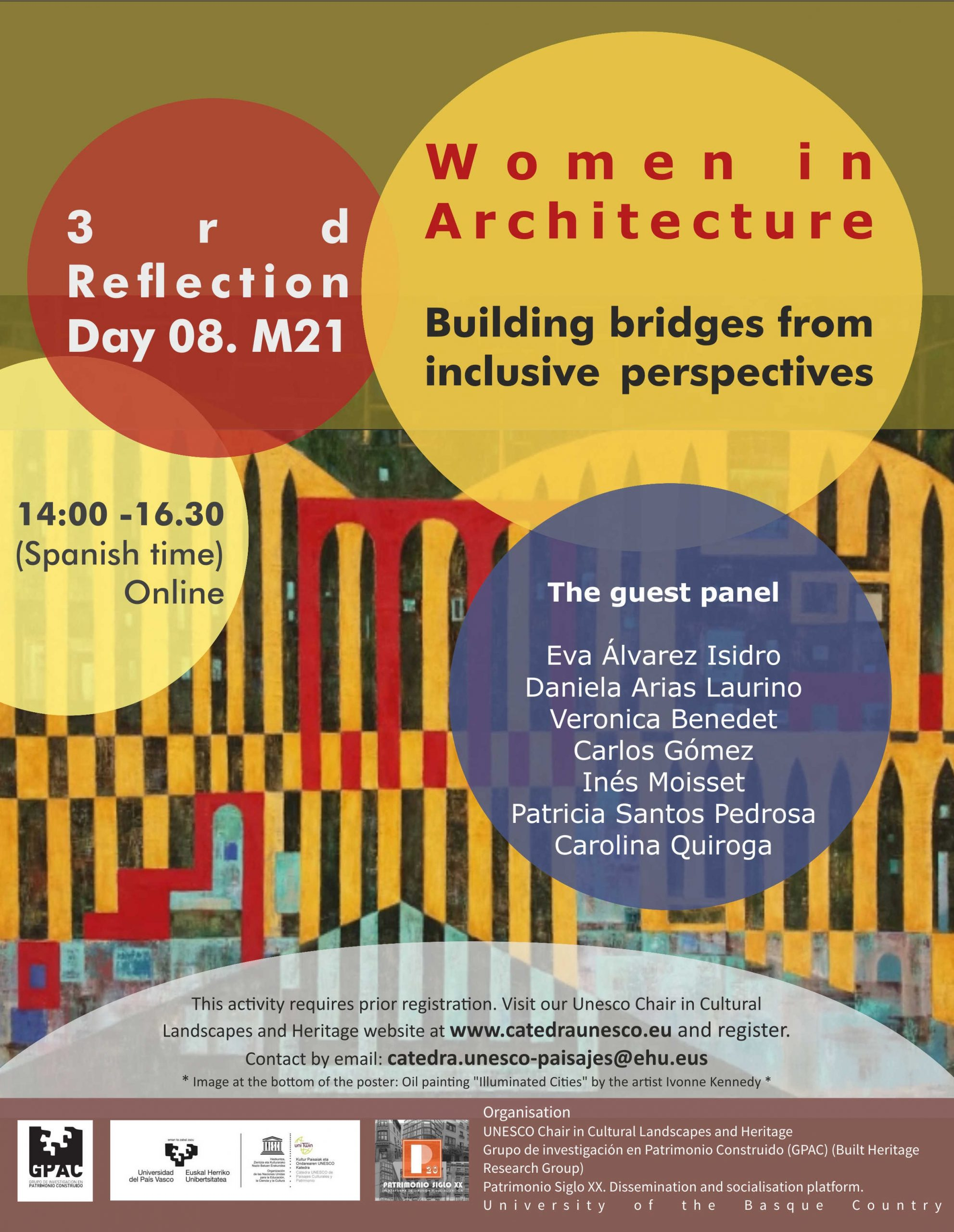 """3rd 8.M. Event 2021 """"Women in Architecture. Building bridges from inclusive perspectives"""""""